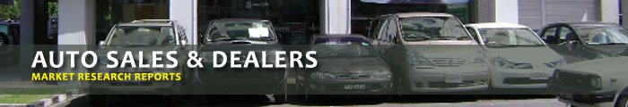 Auto Sales & Dealers Market Research Reports