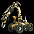 Military Ground Robot Mobile Platform Systems of Engagement: Market Shares, Strategies, and Forecasts, Worldwide, 2013 to 2019