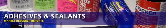 Adhesives and Sealants Market Research Reports
