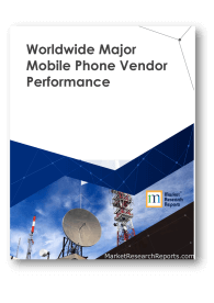 Worldwide Major Mobile Phone Vendor Performance