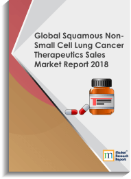 Global Squamous Non-Small Cell Lung Cancer Therapeutics Sales Market Report 2018