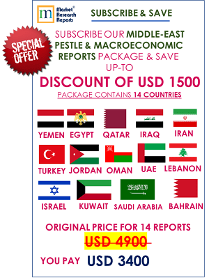 Middle East PESTLE Reports Subscription Offer