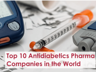 Top 10 Antidiabetics Pharma Companies in the World