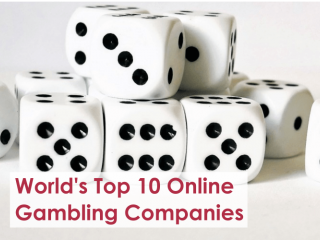 Top 10 Online Gambling Companies in the World