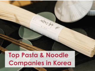 Leading Pasta and Noodle Companies in South Korea