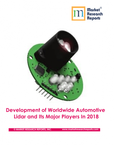 Development of Worldwide Automotive Lidar and Its Major Players In 2018