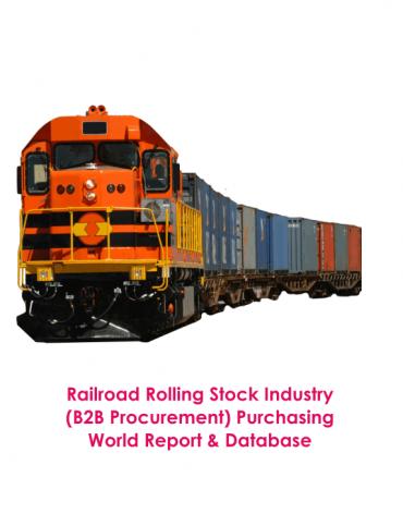 Railroad Rolling Stock Industry (B2B Procurement) Purchasing World Report & Database