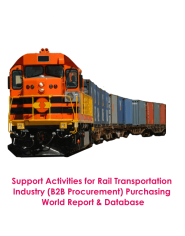 Support Activities for Rail Transportation Industry (B2B Procurement) Purchasing World Report & Database